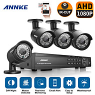 Annke® 16CH HD 1080P DVR HDMI 4PCS Outdoor IR Home Video Security Camera System