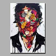 olejomalba moderní abstraktní čistá ruka kreslit připraven k zavěšení dekorační tvář