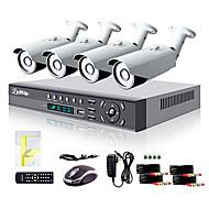liview® 8 채널 HDMI 960h 네트워크 DVR 4 배 700tvl 야외 주 / 야간 보안 카메라 시스템