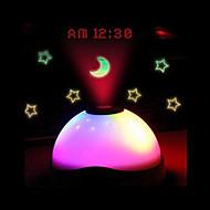 ls4g חמים מכירות קסם דיגיטלי המכוכבים הובילו צבע אור בלילה שעון מעורר הקרנת שינוי Horloge Reloj despertador