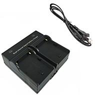 f550 מטען כפול מצלמה דיגיטלית סוללה עבור Sony np-f550 np-F330 NP-f530 np-f570 npf550 fm50 fm500h