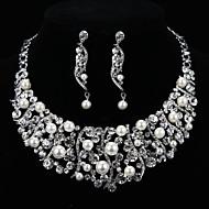 Ensemble de bijoux Cristal / Imitation de perle Alliage Femme