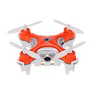 Drone Cheerson CX-10c 4-kanaals 6 AS 2.4G Met camera RC quadcopter 360 Graden Fip Tijdens Vlucht / Met camera Zwart / Oranje