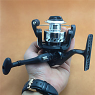 Mini Metal Aluminum Spool 200 Size Spinning Reel 5.2:1 4 BB Freshwater Fishing Ice Fishing Carp Spinning Fishing Reels