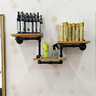 シェルフ シェルフオーガナイザー 装飾用棚 ウッド メタル とともに特徴 あります オープン , のために ネクタイ