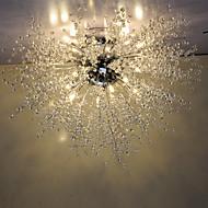 3 Luzes Pingente ,  Esfera Cromado Característica for Cristal / LED MetalSala de Estar / Quarto / Sala de Jantar / Quarto de