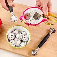 stalinless ocel dual meloun baller kopeček ovoce lžíce zmrzlina dezert sorbet kuchyň kopeček