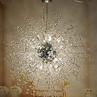 GDNANSHENG® 3 Modern/ Lantern / Globe Crystal / LED / Bulb Included Chrome Metal Flush Mount