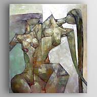 Kézzel festett EmberekModern Egy elem Vászon Hang festett olajfestmény For lakberendezési