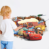 Cartoon Cool Cars Kids Like PVC Wall Sticker Wall Decals