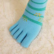 4 par kvinners bomull sokker tilfeldige sokker av høy kvalitet for å kjøre / yoga / fitness / fotball / golf