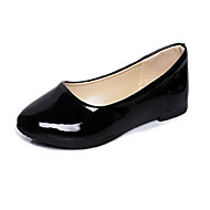 Women's Shoes Patent Leather Flat Heel Ballerina Flats Casual Black / Blue / Yellow / Pink / Purple / Red / White