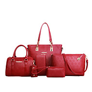 Women PU Shopper Shoulder Bag / Tote