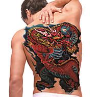 temporäre Tätowierung (full back) - Drachen (2 Stück)