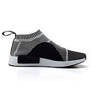 Running Shoes Men's Shoes Athletic / Casual Tulle Fashion Sneakers Fluorescent Black