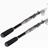 Telespin Rod / Boat Rod / Tele Pole / Fishing Rod / Surf Rod Telespin Rod Metal / Aluminium / EVA / Carbon 330CM MSea Fishing / Fly