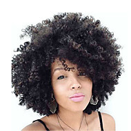 """Afro Curl Human Hair Wig Sale Short Hair Kinky Curly Wig 8"""" None Bob Lace Wigs For Black Women"""