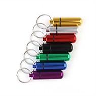 caixa do comprimido Viagem / Exterior Multifunção / Emergência metal Verde / Vermelho / Preto / Azul / Dourado / prata