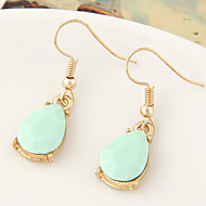Earring Drop Earrings Jewelry Women Daily / Casual Alloy 1 pair Gold