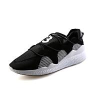 נעלי אתלטיקה-PU-נעלי בובה (מרי ג'יין)-שחור כתום-שטח ספורט יומיומי-עקב שטוח