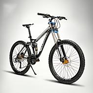 Geländerad Radsport 24 Geschwindigkeit 26 Zoll/700CC 60mm Herren / Unisex Erwachsener EF51-8 Doppelte Scheibenbremsen Federgabel