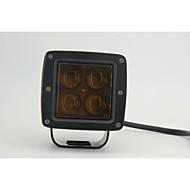 4D Cree Led Spot Light Off Road Driving Headlights 12v 24v Road Truck ATV SUV Tractor Boat Led Work Light