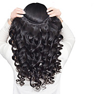 3 Pieces Loose Wave Human Hair Weaves Peruvian Texture 50 8-26 Human Hair Extensions