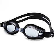 YUKE Óculos de Natação Mulheres / Homens / Unisexo Anti-Nevoeiro / Á Prova-de-Água / Tamanho Ajustável / Proteção UV Gel Silica PCPreto /