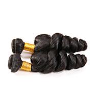 Az emberi haj sző Perui haj Laza hullám 6 hónap 1 darab haj sző
