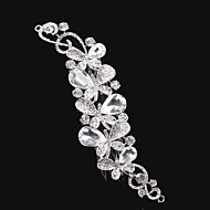Butterfly style Women Alloy Hair Combs With Cubic Zirconia Wedding/Party Headpiece