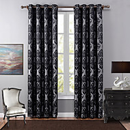 Et panel Window Treatment Europeisk Soverom Polyester Materiale Blackout Gardiner Hjem Dekor For Vindu