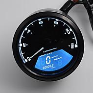 12-24V új lcd digitális sebességmérő kilométer-motorkerékpár motorkerékpár