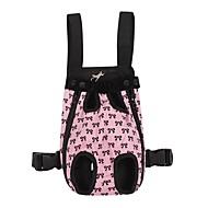 Gato / Cachorro Tranportadoras e Malas / frente Backpack Animais de Estimação Coberturas Portátil / Com Laço Rosa Algodão