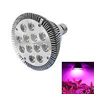 12W E26/E27 LED Grow Lights PAR30 12 High Power LED lm Red / Blue AC 85-265 V 1 pcs