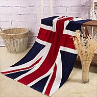 Full Cotton UK Flag Bath Towel