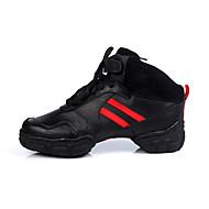 Customizable Women's/Men's Modern Dance Shoes/ Sneakers in Black
