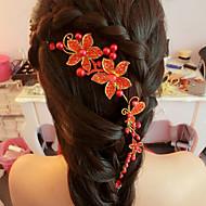 Women's / Flower Girl's Pearl / Alloy Headpiece-Wedding / Special Occasion Headbands 1 Piece