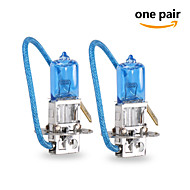 2 pcs GMY 55W 1450±15%lm 3800K Halogen Car Light H3 12V Blue