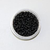silicio nero anello nano perle piccole collegamenti ciclo micro tubi per estensioni dei capelli anello nano 1000pcs / colore / lot