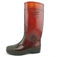 Men's Shoes Outdoor Silicone Boots Brown