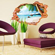 Botanický motiv / Krajina Samolepky na zeď 3D samolepky na zeď,PVC 60*90CM