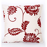 Flocking Cushion Cover with Jacquard Pattern