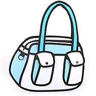 3d Three-dimensional Character Animation Creative Casual Shoulder Bag Cartoon Satchel Cross Body Bag Tote
