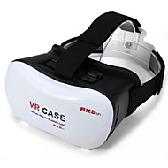 2016 vr Box google Karton 3D-Film vr Fall Kopf Kunststoff vr Box-Version Virtual-Reality-Brille für Smartphone Halterung