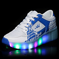 Unisex Kid Boy Girl LED Light Up Single Wheel Sneaker Athletic Shoe Sport Shoes Heelys Roller Shoes Dance Boot
