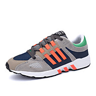 Men's Sneaker Shoes Leatherette Black / Blue / Orange