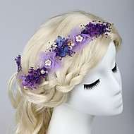 Women's Fabric Headpiece - Wedding / Special Occasion / Outdoor Hair Combs 1 Piece