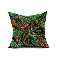 Coton/Lin / Polyester Housse de coussin,Géométrique Moderne/Contemporain