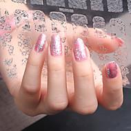 -Finger / Zehe-3D Nails Nagelaufkleber-Acryl-1Stück -20CM*20CMcm