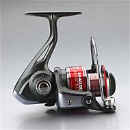 Carretes para pesca spinning 5.5:1 12 Rodamientos de bolas IntercambiablePesca de Mar / Pesca al spinning / Pesca de agua dulce / Pesca